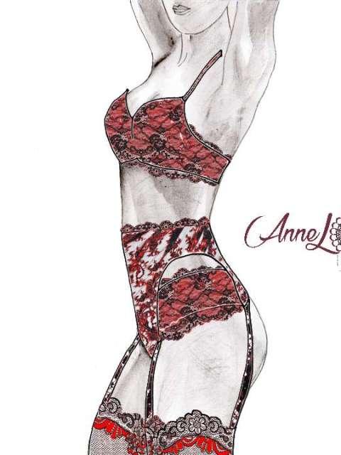 annel- cadre intime- des voiles émoi -rosso