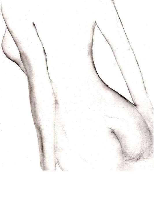 Annel- L'envers du décor- aquarelle- 18x24cm